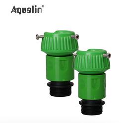 2x Быстрый разъем адаптер для садового шланга Aqualin GW00105
