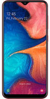 Смартфон Samsung Galaxy A20 (A205F) 3/32GB Dual SIM Red