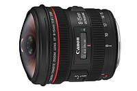 Объектив Canon EF 8-15mm f/4L USM FISHEYE