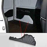 Пластиковые защитные накладки на внутренние колесные арки для Citroen Berlingo III 2018+, фото 3