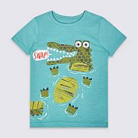 Стильная футболка для мальчика Крокодил Little Maven