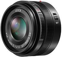 Объектив Panasonic Micro 4/3 Lens 15mm f/1.7 ASPH. Leica DG Summilux