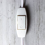 Соляной светильник круглый Мишки на лавочке, фото 4
