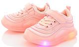 Новые детские  кроссовки c LED подсветкой, размеры 21-26, фото 3