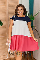 Платье летнее 05221 БАТАЛ