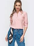 Блузка на застежке пуговицы и длинным регулируемым рукавом, фото 6