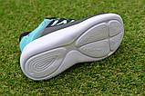 Детские кроссовки Nike сетка черный бирюза на девочку р26-30, копия, фото 6