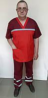 Чоловіча форма Швидкої допомоги сорочкова тканина