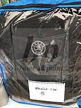 Чехлы на сиденья модельные (автоткань) Skoda fabia II Mk2 (шкода фабия мк2) 2007-2014 деленная