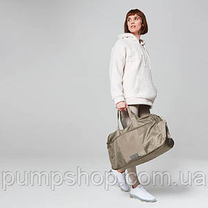 Спортивная сумка MyProtein Luxe серо-коричневая