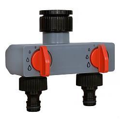 2-сторонний водопроводный адаптер  Aqualin 27211