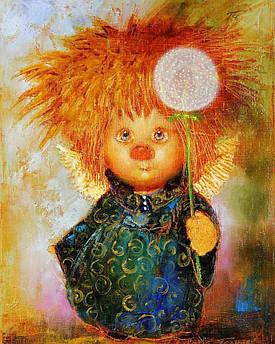 Алмазная мозаика Солнечный ангел 50x40см DM-144 Полная зашивка. Набор алмазной вышивки