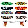 Скейтборд детский 68х19см светящиеся колеса GSK-0003 рисунок