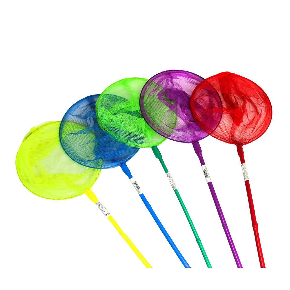 Сачок дитячий BT-BN-0001 5 кольорів в кул. 70*20 см Салатовий