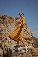 Модное женское платье с открытыми плечами 5232.24