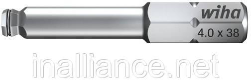 Бита HEX 4,0 х 38 мм шестигранник со сферической головкой и MagicRing® Wiha 22960