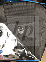 Чехлы на сиденья модельные (автоткань) renault megane 2 HB Kombi (рено меган 2002-2009) хетч комби , деленный