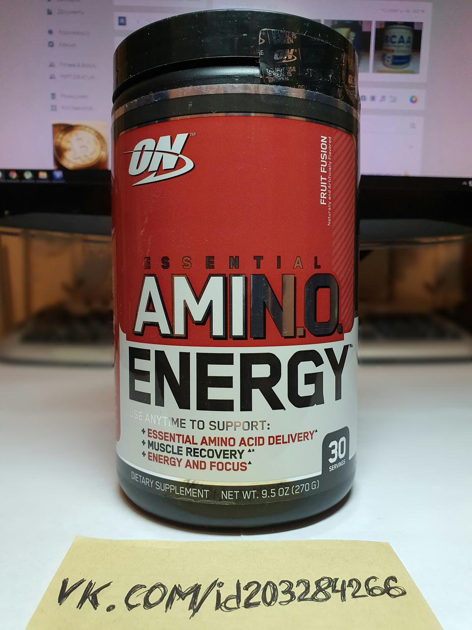 Комплекс аминокислот Optimum Nutrition AmiNO Energy 30 порций