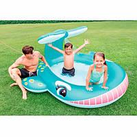 Дитячий надувний басейн Intex 57440 Веселий Кіт 201х196х91см