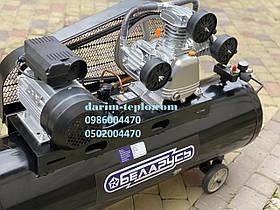 Воздушный компрессор Беларусь 120л 3-цилиндровый 380V 4.5Квт 850 л/мин