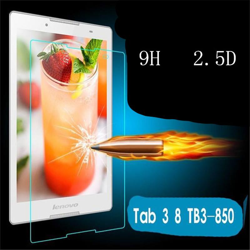 Защитное стекло для Lenovo Tab 3 TB3-850M tb-850m 850F 8.0 + салфетки
