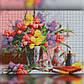 Алмазная мозаика Натюрморт 30x40 TWD10028 The Wortex Diamonds Полная зашивка, фото 2