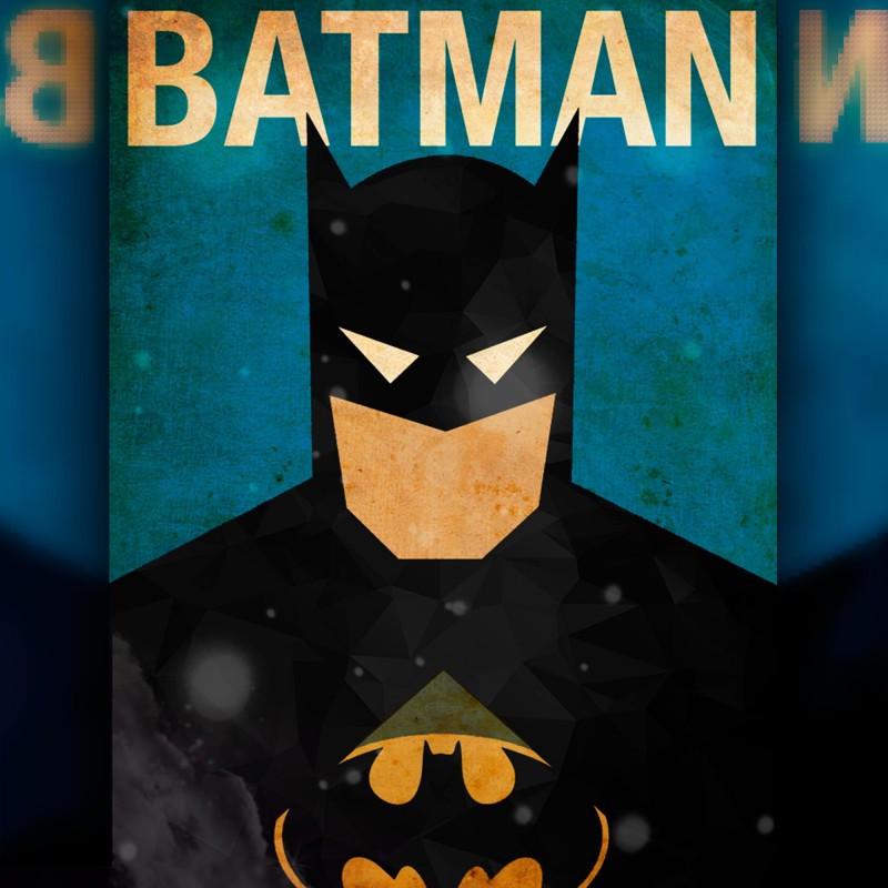 Алмазная мозаика Постер Бэтмена 30x40 TWD40006 The Wortex Diamonds Полная зашивка