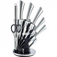 Набор ножей из нержавеющей стали на подставке 9 пр Rainstahl RS/KN-8006-09