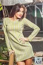Платье длинный рукав неопрен , фото 2