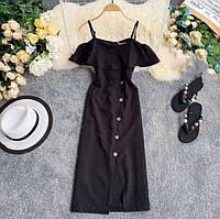 Жіноче літнє плаття сарафан (42-48), фото 1