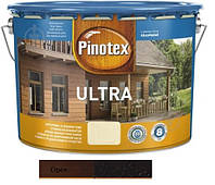 Водоотталкивающее лазурное деревозащитное средство Pinotex Ultra Lasur ореховое дерево 10л