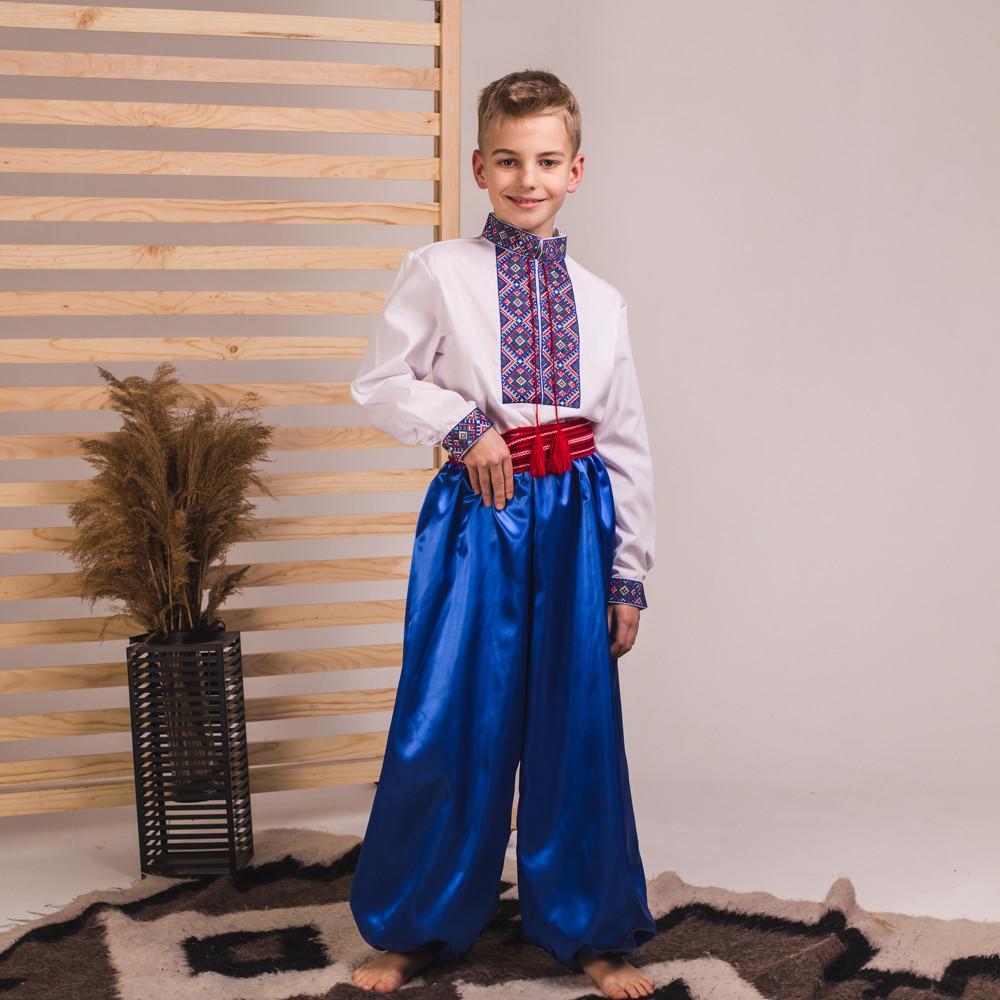Сині шаровари на хлопчика від 60 см до 100 см