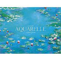 "Альбом для малювання склейка 15арк. A4+ ""Aquarelle"" Muse PB-GB-015-053/Школярик"