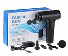 Портативный ручной вибромассажер для мышц Fascial Gun HF-320 | Мышечный массажер, фото 5