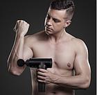 Портативный ручной вибромассажер для мышц Fascial Gun HF-320 | Мышечный массажер, фото 7