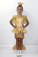 Детский карнавальный костюм Золотая Рыбка для девочек 5-6 лет, фото 1