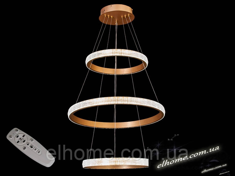 Сучасна світлодіодна люстра з диммером 115W