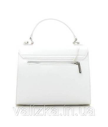 Женская сумка клатч David Jones белая, фото 2