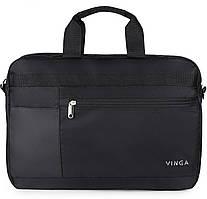"Сумка для ноутбука 15,6"" VINGA NB220BK Black (NB220BK)"