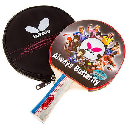 Ракетка для настольного тенниса Batterfly 4*, 1шт, фото 2