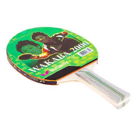 Ракетка для настольного тенниса Batterfly Wakaba 2000, фото 2