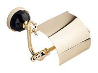 Держатель для туалетной бумаги KUGU Diamond Золото 3341, КОД: 1400991