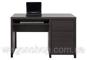 "Компьютерный стол BIU 1D1S 120 ""Каспиан"" BRW"