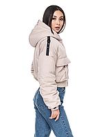 """Модная женская демисезонная укороченная куртка """"Нева"""""""