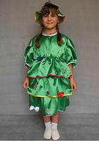 Дитячий карнавальний костюм Ялинка для дівчаток 3-6 років