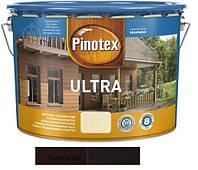 Водоотталкивающее лазурное деревозащитное средство Pinotex Ultra Lasur палисандр 10л