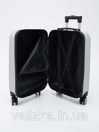 Детский пластиковый чемодан для девочки с пандой, фото 2