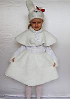 Детский карнавальный костюм Зайка для девочек от 3 до 6 лет, фото 1