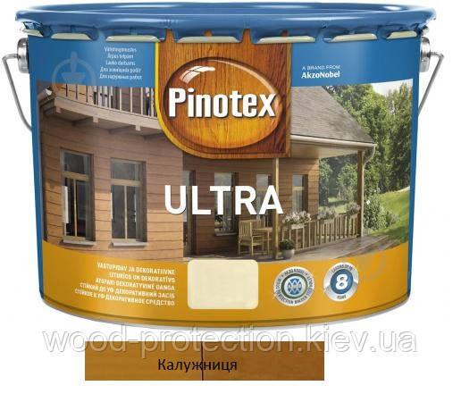 Pinotex ultra Lasur просочення для деревини калюжниця 10л
