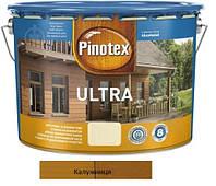 Водоотталкивающее лазурное деревозащитное средство Pinotex Ultra Lasur калужница 10л